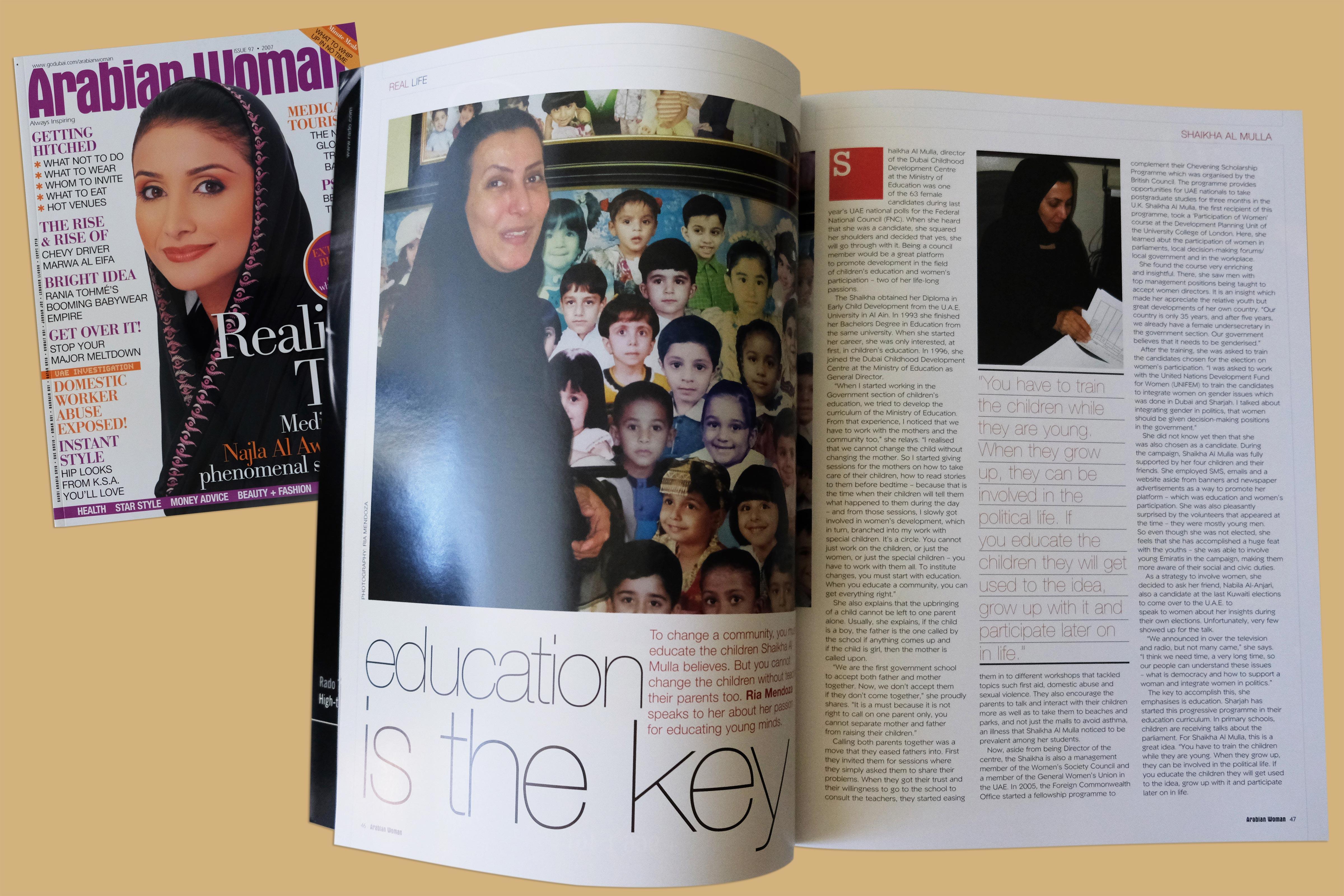 Arabian Woman Magazine