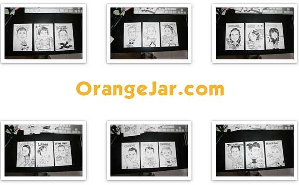 OrangeJar Caricatures
