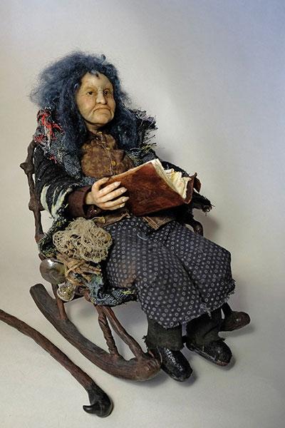 OrangeJar Art Doll Crabby Granny3