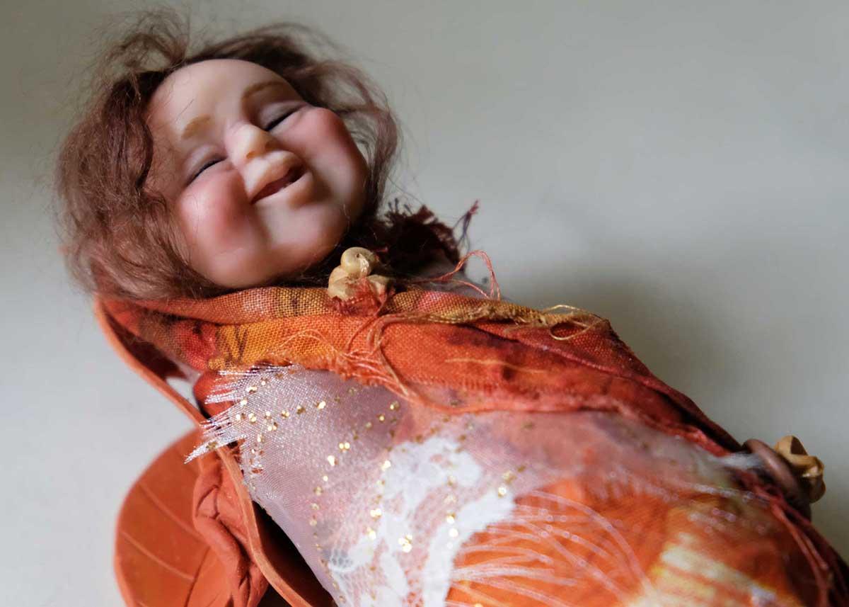OrangeJar Art Doll