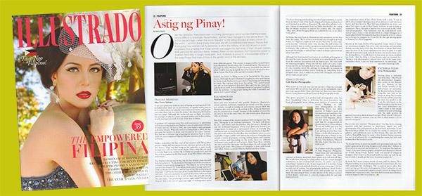 OrangeJar in Illustrado Magazine